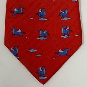 Hermes Accessories - Hermès Pegasus Tie